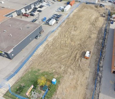 Case Study: Drones Revolutionize Parking Lot Construction